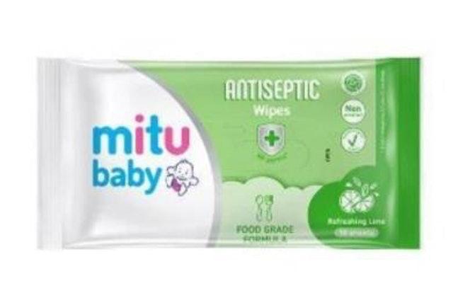 Godrej Mitu Baby Antiseptic Wipes Sachet 1