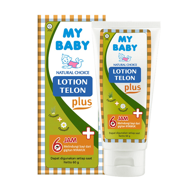 Tempo Scan Pacific My Baby Lotion Telon Plus 1