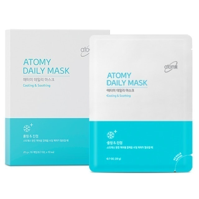Atomy Daily Mask Cooling and Soothing 1