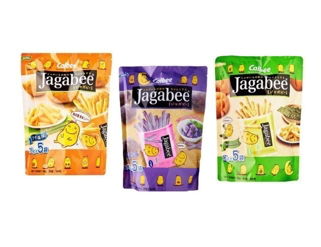 Calbee Jagabee Potato Stick Pouch 1