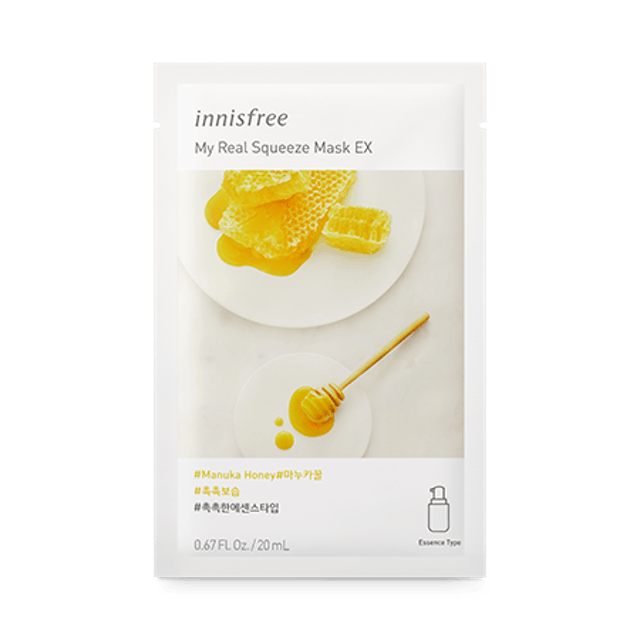 Innisfree My Real Squeeze Mask EX 1