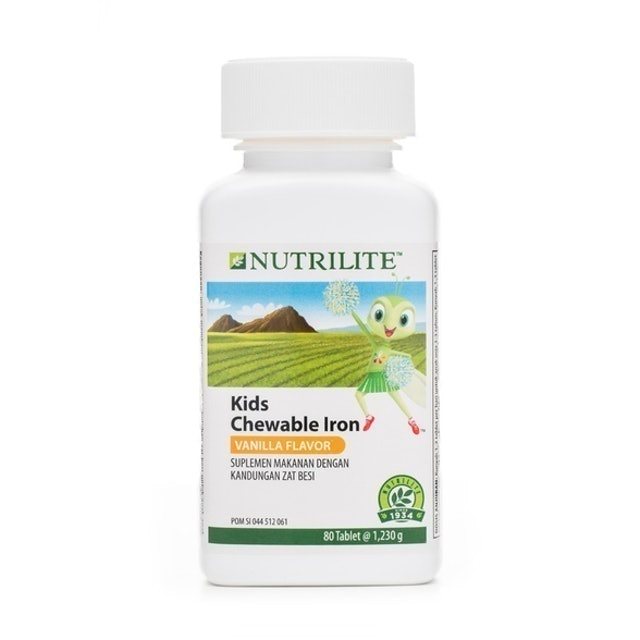 Amway Indonesia Nutrilite Chewable Iron 1