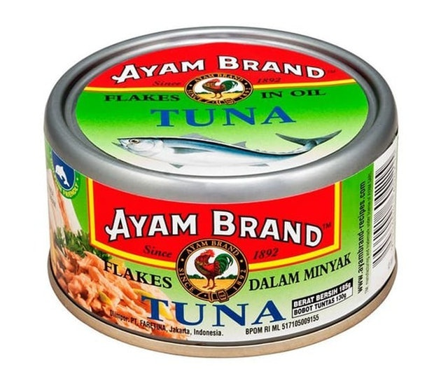 Ayam Brand Tuna Flakes in Oil 1