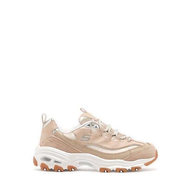 Skechers D'Lites Natural Wave Women's Sneakers Shoes 1