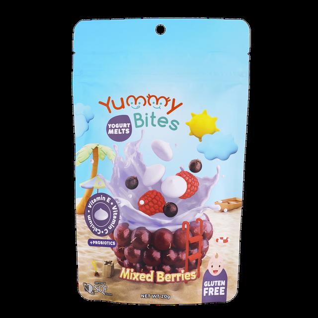 Yummy Bites Yogurt Melts Mixed Berries 1