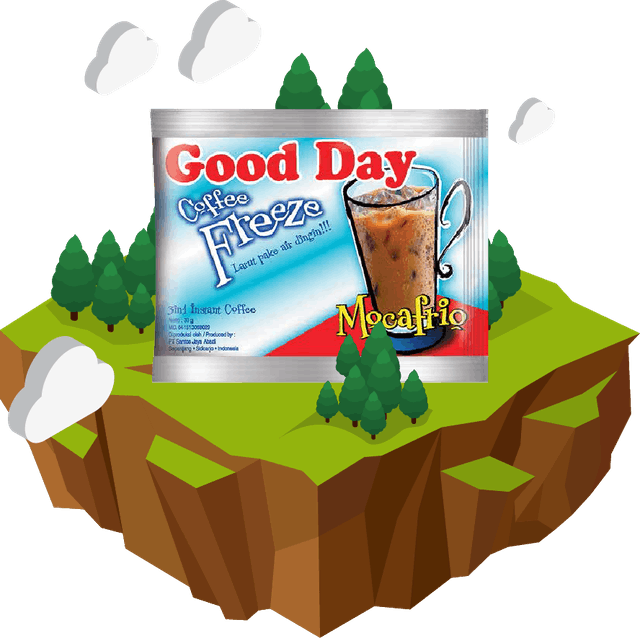 Santos Jaya Abadi Good Day Coffee Freeze 1