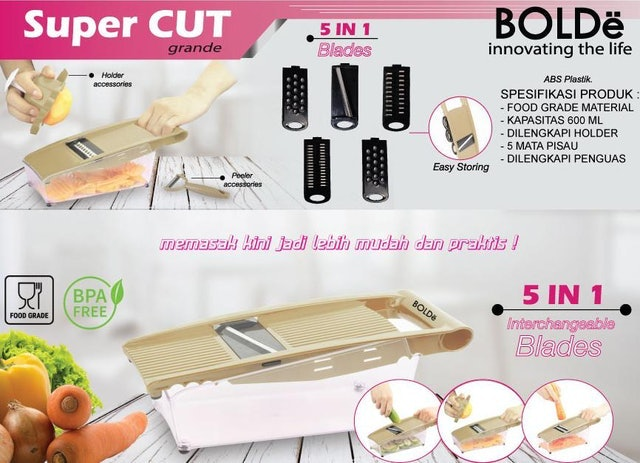 BOLDe Super Cut Grande 1