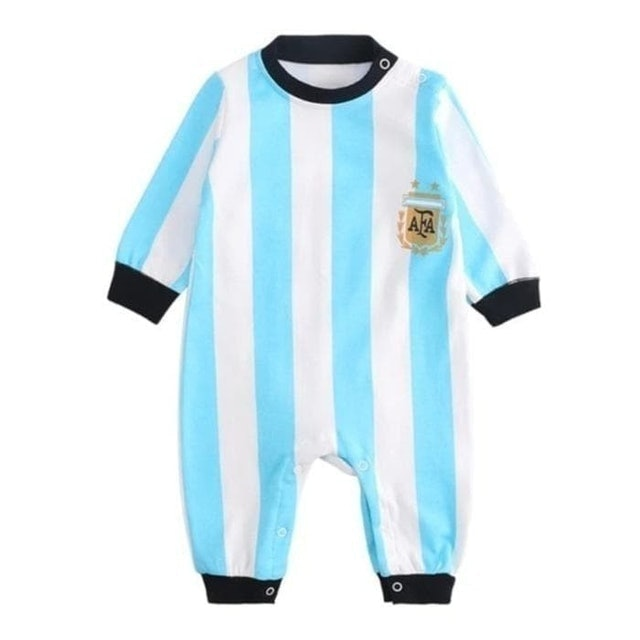 Baju Bayi Jumper Panjang Bola Argentina For Baby Boy 1