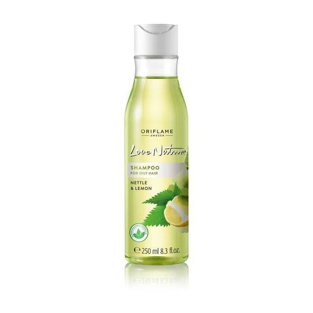 Oriflame Love Nature Shampoo for Oily Hair Nettle & Lemon 1