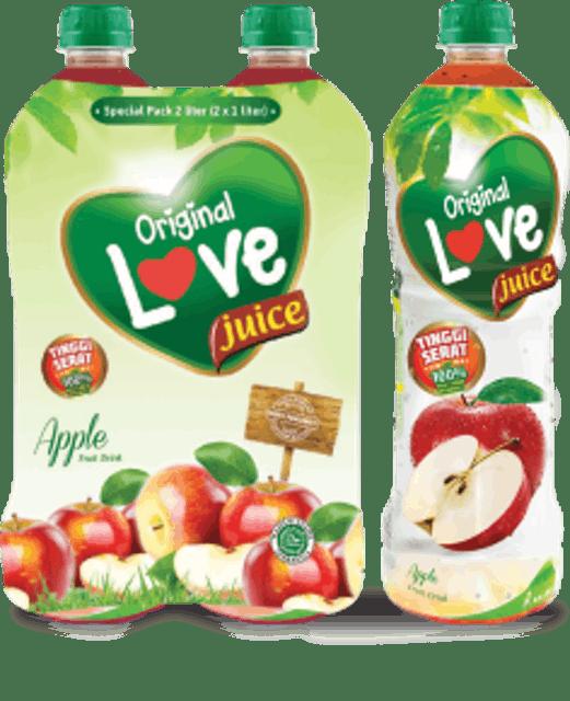 Kalbe Original Love Juice Apple 1