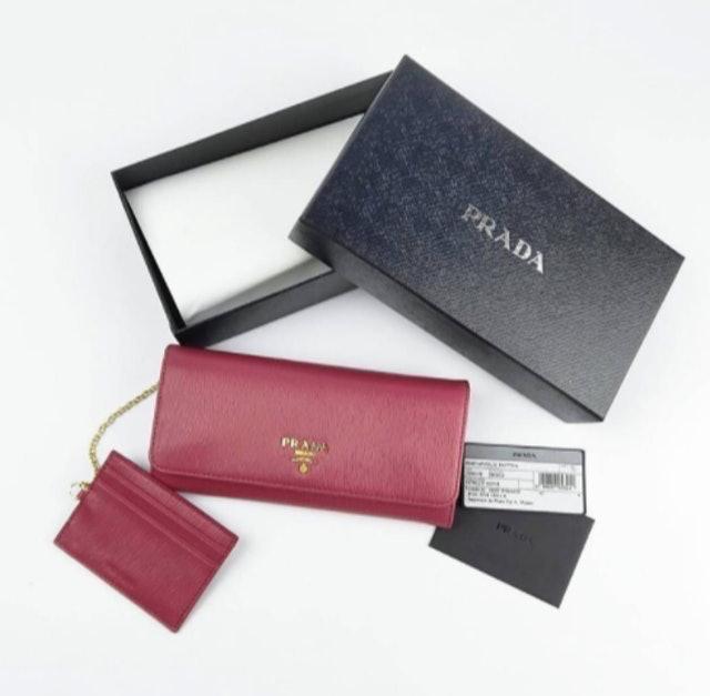 Prada  Portagoflio Pattina Wallet 1