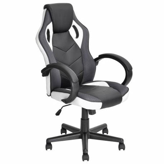 JYSK Office Chair LINTON PU Black White 1