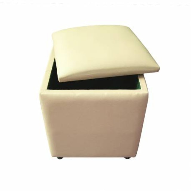 JYSK  Pouffe Holeby With Storage 1