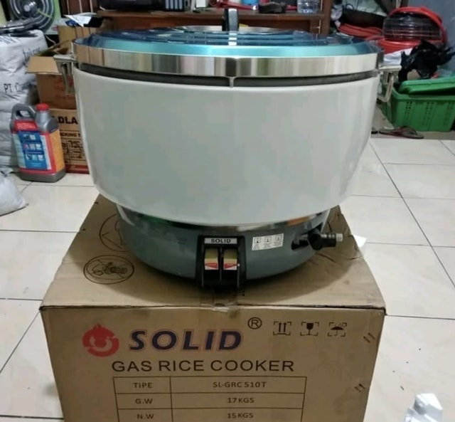Solid Gas Rice Cooker 1