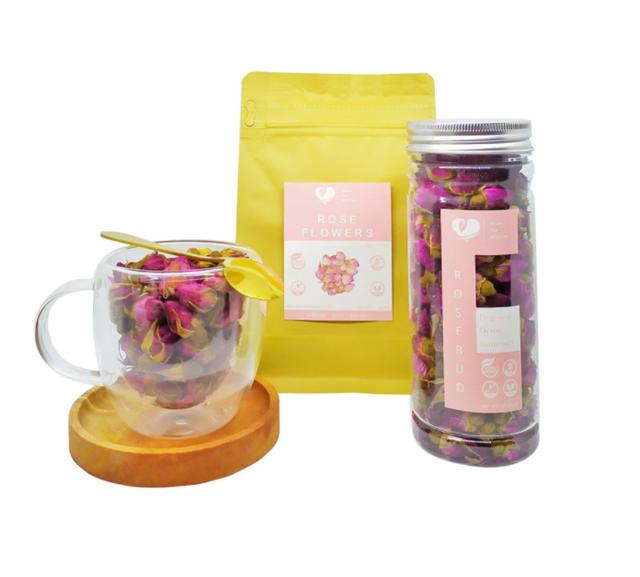 Bloom Tea Blossom  Pure Rosebud Flower 1