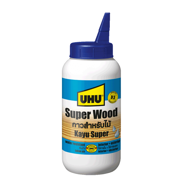 UHU SUPER WOOD WATER RESISTANT 1
