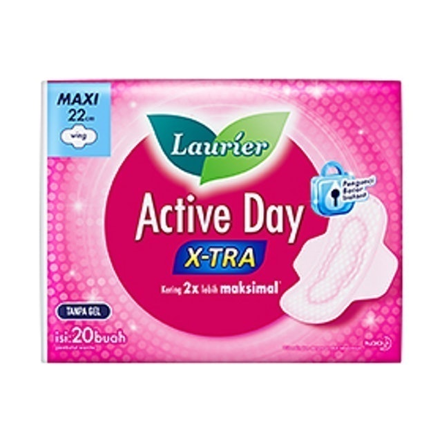Kao Laurier Active Day X-TRA 1