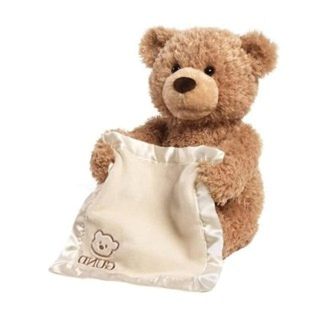 Gund Peek A Boo Bear Brown 1
