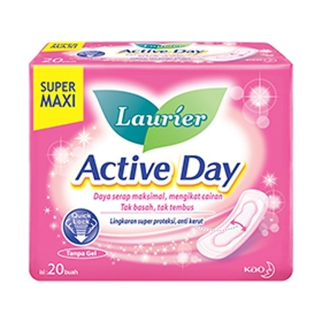 Kao Laurier Active Day Super Maxi 1