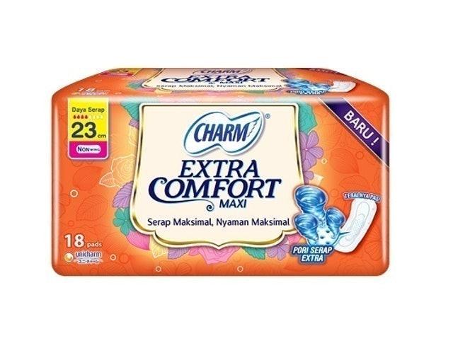 Unicharm CHARM Extra Comfort Non Wing 23 cm 1