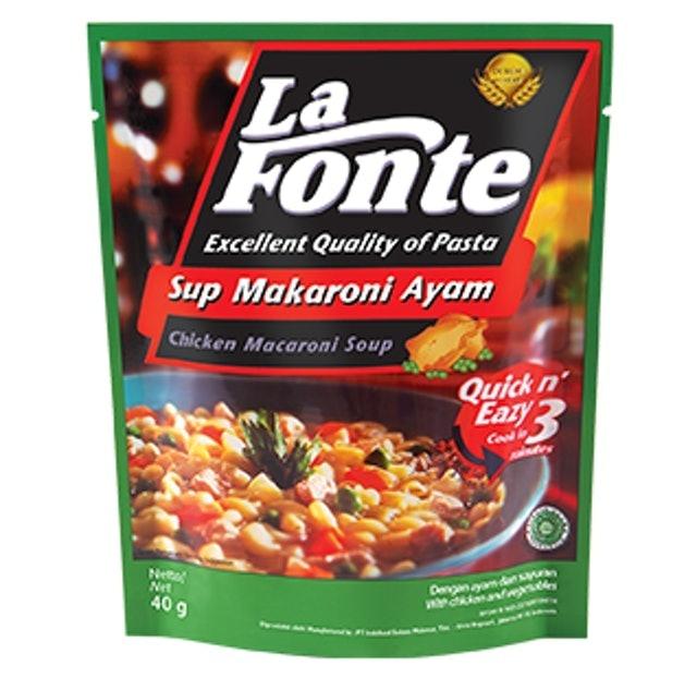 Indofood Bogasari La Fonte Sup Makaroni Ayam 1