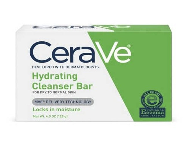 CeraVe Hydrating Cleanser Bar 1
