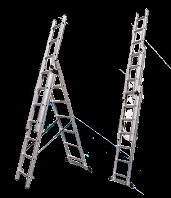 Denko Aluminium Extension Ladder 1