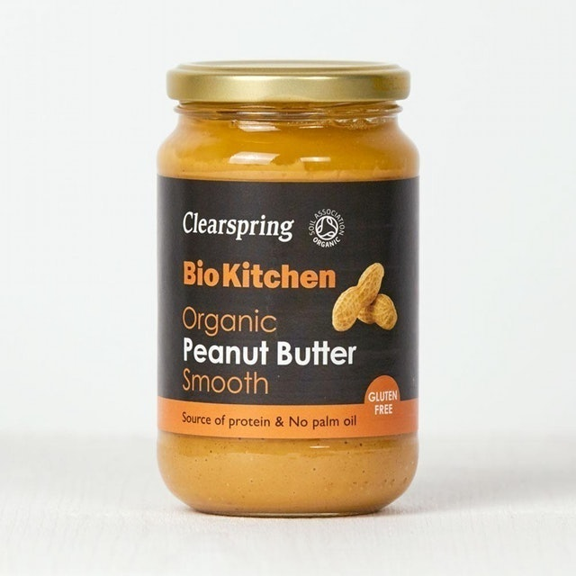 Clearspring Bio Kitchen Organic Peanut Butter Smooth 1