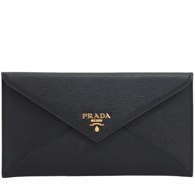 Prada  Vitello Envelope Flap Wallet 1