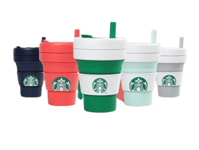 Starbucks Starbucks x Stojo Collapsible Cup 1