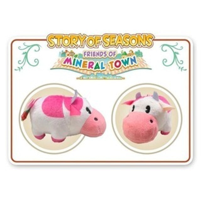 Cow Plush Story of Seasons: Friends of Mineral Town 1