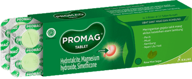 Kalbe Farma  Promag Tablet  1