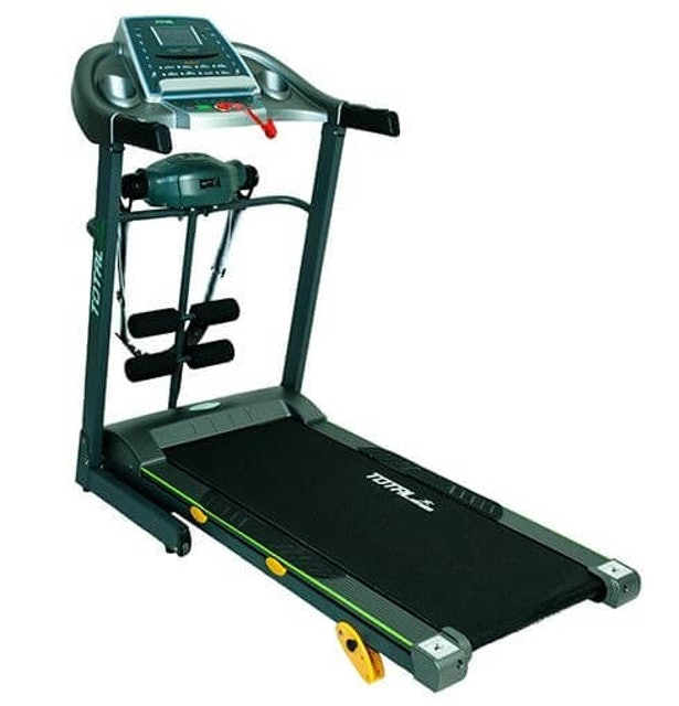 TOTAL HEALTH GYM Treadmill Listrik - Manual Incline 1