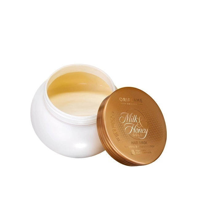 Oriflame Milk & Honey Gold Hair Mask 1
