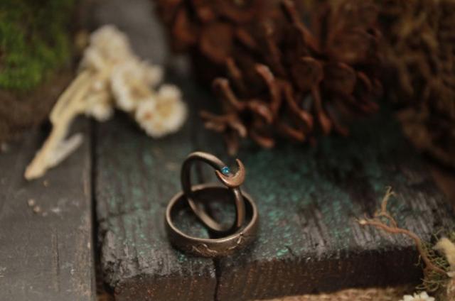 Trustic Rustic Jewellery Cincin Couple Rustic 1