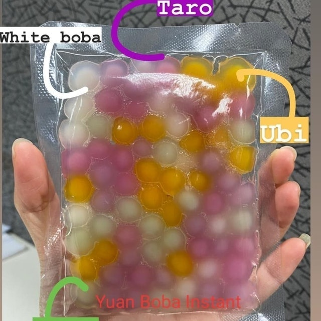 Boba Instant Mix Fruits 1