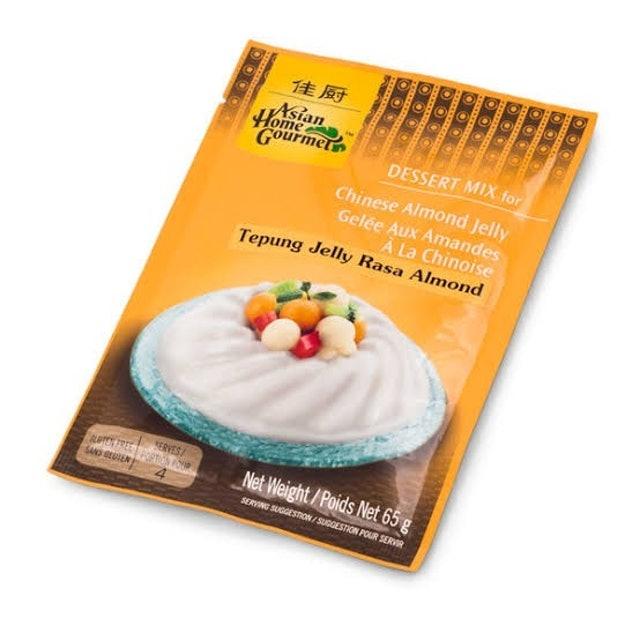 Asian Home Gourmet Tepung Jelly Rasa Almond 1