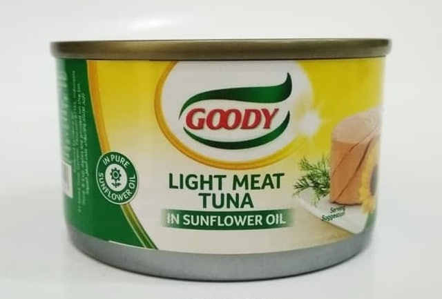 Goody Tuna in Sunflower Oil 1