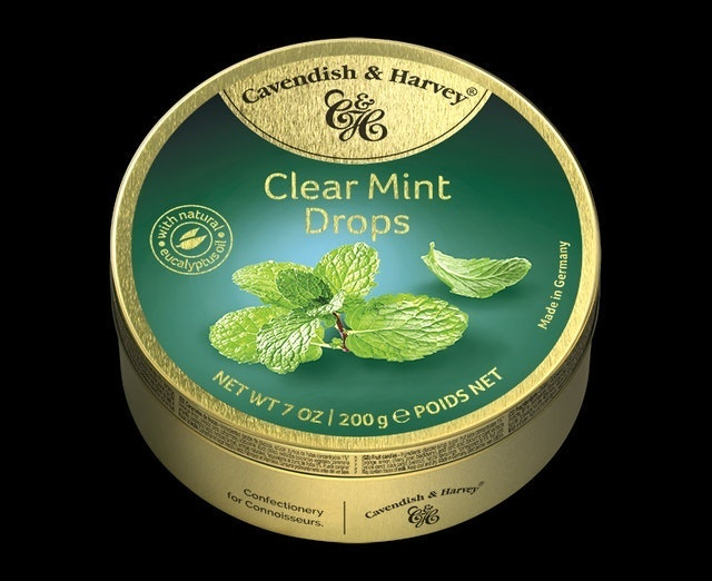 Cavendish & Harvey Clear Mint Drops 1