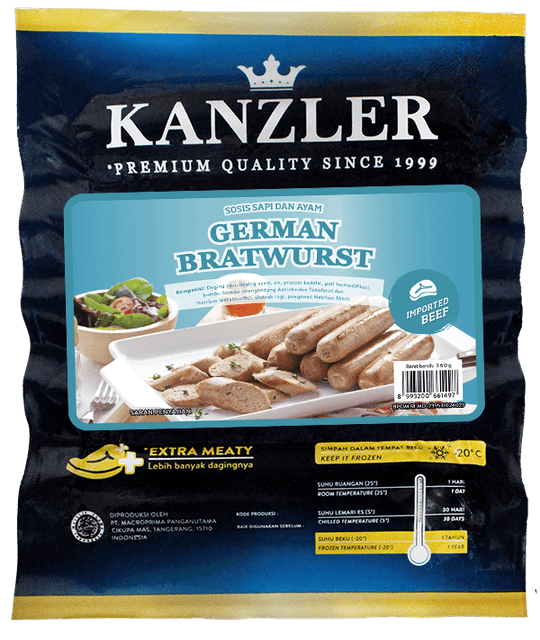 Kanzler - Cimory Indonesia  German Bratwurst 1