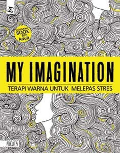 Arelita Colouring Book for Adult - My Imagination 1
