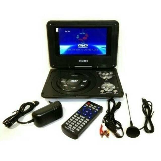 Rinrei Portable TV/DVD player 9'' TFT Wide Screen 1