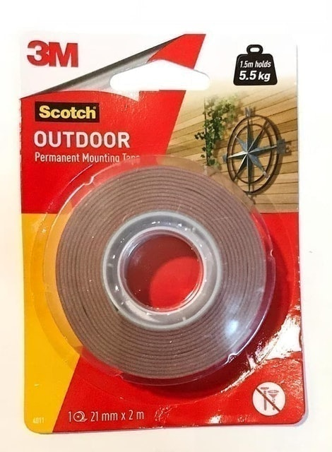 3M Scotch Outdoor Permanent Mounting Tape 1
