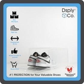 10 Rekomendasi Kotak Sepatu Transparan Terbaik (Terbaru Tahun 2021) 2