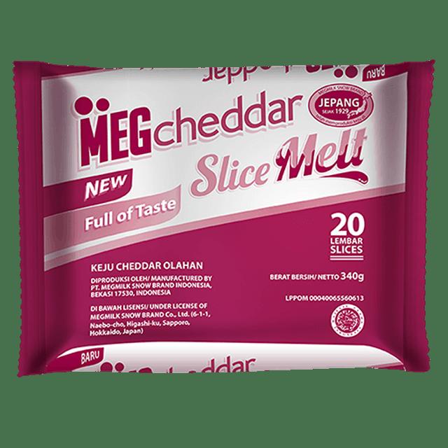 MEG Cheese MEG Cheddar Slice Melt 1