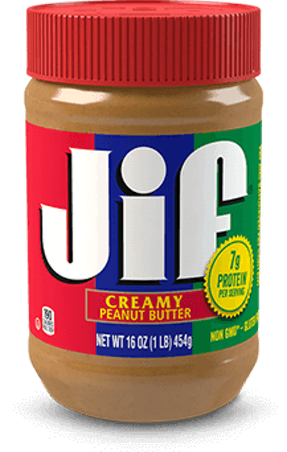 The J.M. Smucker Jif Creamy Peanut Butter 1