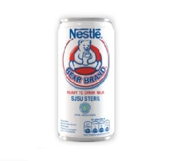 Nestlé Bear Brand Ready to Drink Milk Tin 1