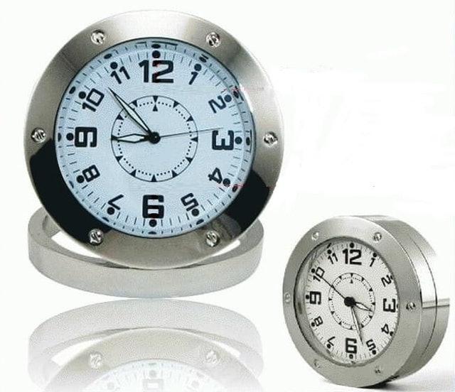 Spy Cam Analog Desk Clock 1