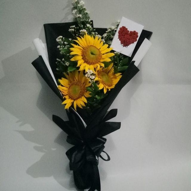 Buket Bunga Matahari 1