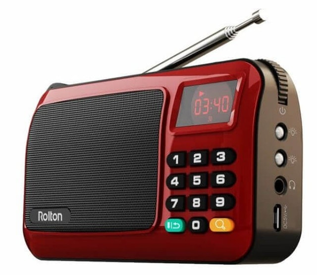 Rolton Portable Radio Player W405 1
